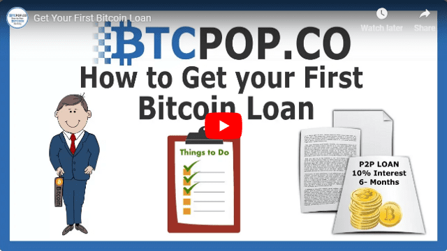 Get Your First Bitcoin Loan