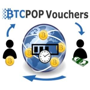 featured image for Btcpop Vouchers: Transfer Bitcoin Instantly and Securely for .5% article. BTCPOP Vouchers text