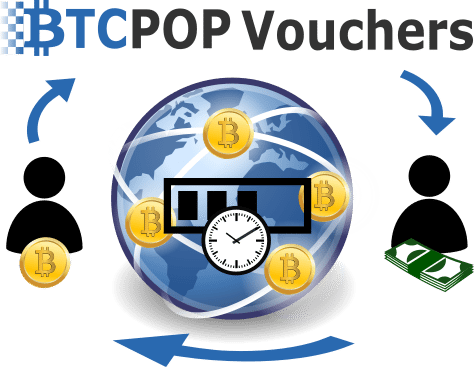 Btcpop Vouchers: Transfer Bitcoin Instantly and Securely for .5%